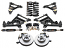 1952-53 Mercury Stage 3 Tubular Control Arm Suspension Kit
