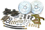 1947-59 CHEVY TRUCK DISC BRAKE WHEEL CONVERSION KIT, 5-LUG 16777