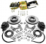 "1947-55 Chevy Truck and GMC Truck Front Power Disc Brake Conversion Kit, 6 x 5.5"" Bolt Pattern"