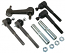 1973-87 Chevy C10 Truck Tie Rod and Idler Arm Kit For Stock or Tubular Control Arms