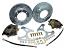 1963-87 Chevy C20 Disc Brake Conversion Kit, Rear 8-lug