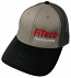FiTech Grey and Black Hat