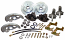 "1967-69 Chevy Camaro Disc Brake Conversion Kit, 2"" Drop OEM Style Spindles"