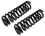 1964-66 Ford Mustang Front Coil Springs, Small Block
