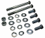 Ford V-8 Engine Motor Mount Hardware Kit, SBF