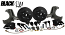 "1963-70 Chevy C10, GMC C15 Truck ""BLACKOUT"" Disc Brake Conversion, Deluxe 5 Lug"