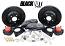 "POL - 70-81 GM F Body, 73-77 A Body and 75-79 Nova 13"" BLACKOUT Track 4, Disc Brake Conversion by Baer"