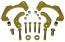65-68 CHEVY FULL SIZE CAR, DISC BRAKE CONVERSION KIT, LG GM CALIPER (DB6568A)