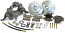 1967-81 Chevy Camaro, Pontiac Firebird Drop Spindle Disc Brake Conversion Kit 16219