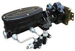 1964-72 Chevy Chevelle Hydro-Boost Power Brake Booster with Black Wilwood Master Cylinder