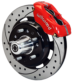 Wilwood Dynalite Pro Series Front Hub Kit, 1955-57 Chevy Belair Front Disc Brake Conversion Kits