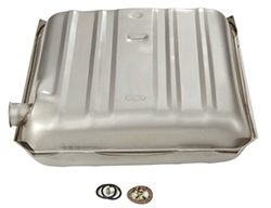 1955-56 Chevy Belair OEM Replacement Gas Tank, 16 Gallon Steel