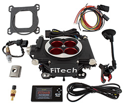 FiTech 30004 - Go EFI Power Adder Fuel Injection System, 600HP