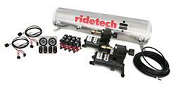 RideTech 30154100 - 4-Way Analog Ride Pro Compressor System, 5 Gallon