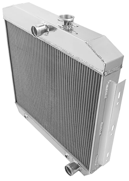 1942-52 FORD PICK UP 3 ROW ALUMINUM RADIATOR