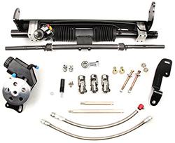 1975-81 Chevy Camaro Power Steering Rack and Pinion Conversion Kit, Big Block