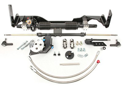 1965-66 Chevy Impala Belair and Biscayne Power Steering Rack and Pinion Conversion Kit