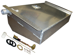 1962-67 CHEVY II | NOVA, 16 GALLON ALUMINUM FUEL TANK COMBO KIT