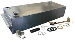 1948-60 FORD F-1 and F-100 TRUCK, 21 and 17 GALLON ALUMINUM FUEL TANK COMBO KIT