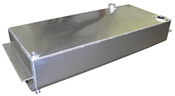 1960-62 Chevy Truck Aluminum Fuel Gas Tank, 19 Gallon