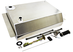 1963-72 Chevy Truck Aluminum Fuel Gas Tank Combo Kit, 19 Gallon