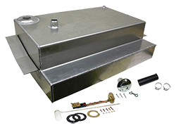 1973-87 Chevy Truck C10, Aluminum Fuel Tank Combo Kit, 19 Gallon, Bed Fill