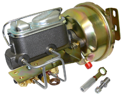 64-66 FORD MUSTANG, POWER BRAKE BOOSTER KIT (BB-C6466M)