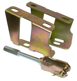 ZINC BOOSTER BRACKETS WITH PEDAL CLEVIS & PUSHROD (BBK5565)