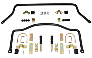1973-87 Chevy C10 Truck Anti Sway Bar Kit, High Performance, Front and Rear