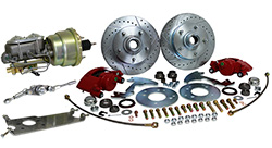 "1949-51 Mercury ""MERC"" Car, Complete Disc Brake Conversion Kit"