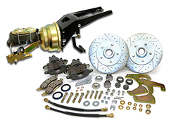 "1947-53 Chevy Truck and GMC Truck Front Power Disc Brake Conversion Kit, 5 x 4.75"" Bolt Pattern"