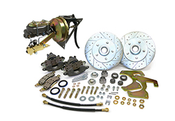 1948-52 Ford F-1 & F-100 Truck Power Disc Brake Conversion Kit, 5-Lug w/ Firewall Mount Booster