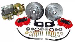 1964-66 Ford Mustang V-8 Power Disc Brake Conversion Kit