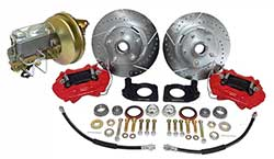 1968-73 Ford Mustang Power Disc Brake Conversion, V-8 Drum