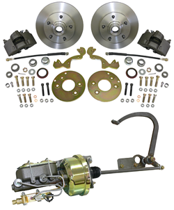 1949-53 Ford Car, Front Disc Brake Conversion Kit, Complete (CWBKS4953)