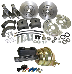 1962-74 MOPAR CHRYSLER DODGE PLYMOUTH CAR DISC BRAKE CONVERSION KIT, Complete (CBKS6274)
