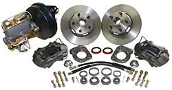 1968-73 FORD MUSTANG, DISC BRAKE CONVERSION KIT, V-8 DRUM (CBK6873P)