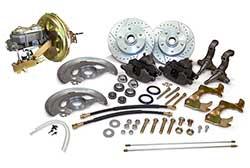 1968-74 Chevy Nova Power Disc Brake Conversion, OEM Spindles