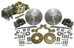 1952-53 Ford Car, Front Power Disc Brake Conversion Kit, Complete