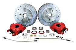 1960-87 Chevy C10 Truck Disc Brake Wheel Component Kit, 5-LUG