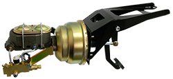 1955-59 Chevy Truck and GMC Truck Firewall Mount Power Brake Booster Kit