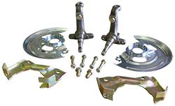 1962-74 Chevy Nova Disc Brake Spindle Kit, OEM type GM car