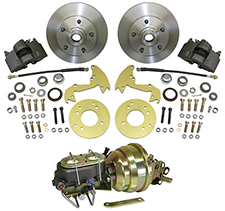 "1952-53 Mercury ""MERC"" Car, Complete Disc Brake Conversion Kit"