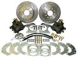 "Disc Brake Conversion, Ford 9"" Rear End, 11"" Rotors"