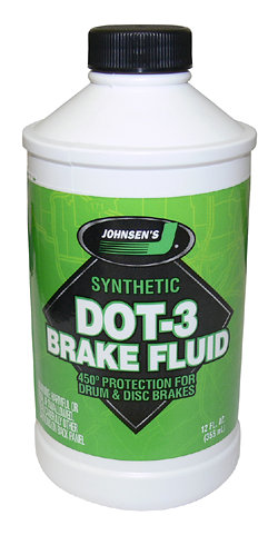 Johnsenís Synthetic DOT 3 Brake Fluid (SS-1)