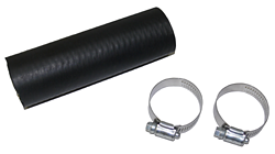 "Fuel Filler Hose, Rubber, 2.0"" Diameter, Per Foot, Includes Clamps"