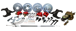 1963-66 Chevy C10 Front and Rear Power Disc Brake Conversion Kit, GM Truck