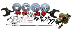 1967-70 Chevy C10 Front and Rear Power Disc Brake Conversion Kit, GM Truck