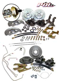 1968-74 Chevy Nova Front and Rear Power Disc Brake Conversion Kit