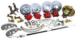 1967-72 Chevy Chevelle 4 Wheel Power Disc Brake Conversion